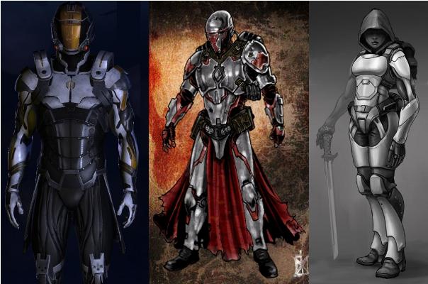 Fantasy light armor - photo#4