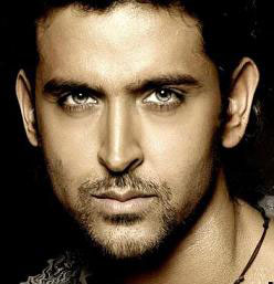Hrithik Roshan (with grey eyes)